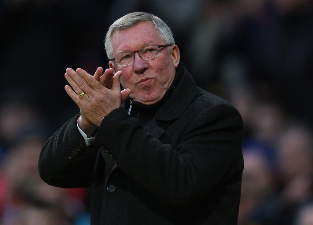 Sir Alex Ferguson  *** image courtesy of zimbio ***